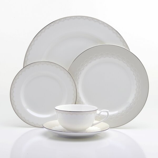Julliard Bone China 5 Piece Place Setting Set, Service for 1 by Oneida