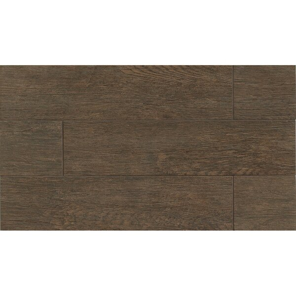 8 x 24 Porcelain Wood Look/Field Tile in Brownstone by Grayson Martin