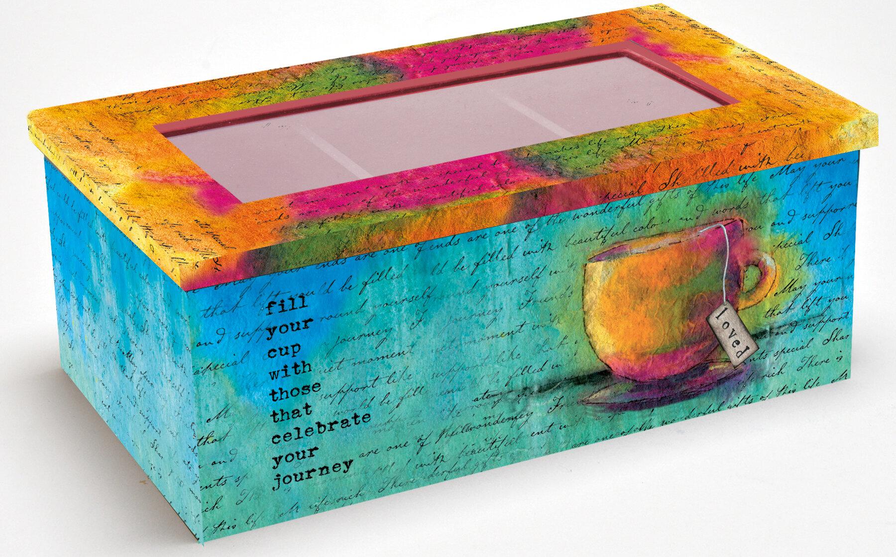 Lang Loved Tea Box & Reviews | Wayfair
