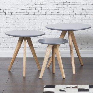 Garra 3 Piece Coffee Table Set Home Loft Concepts