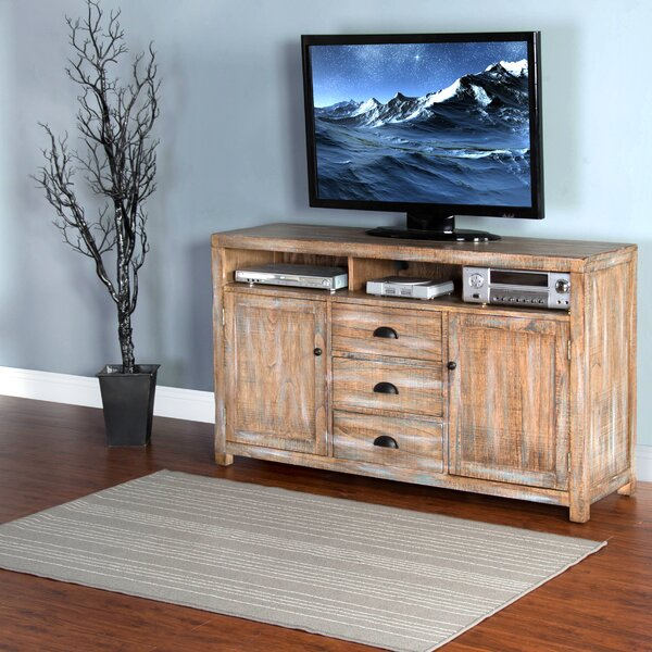 Herman Solid Wood TV Stand for TVs up to 78