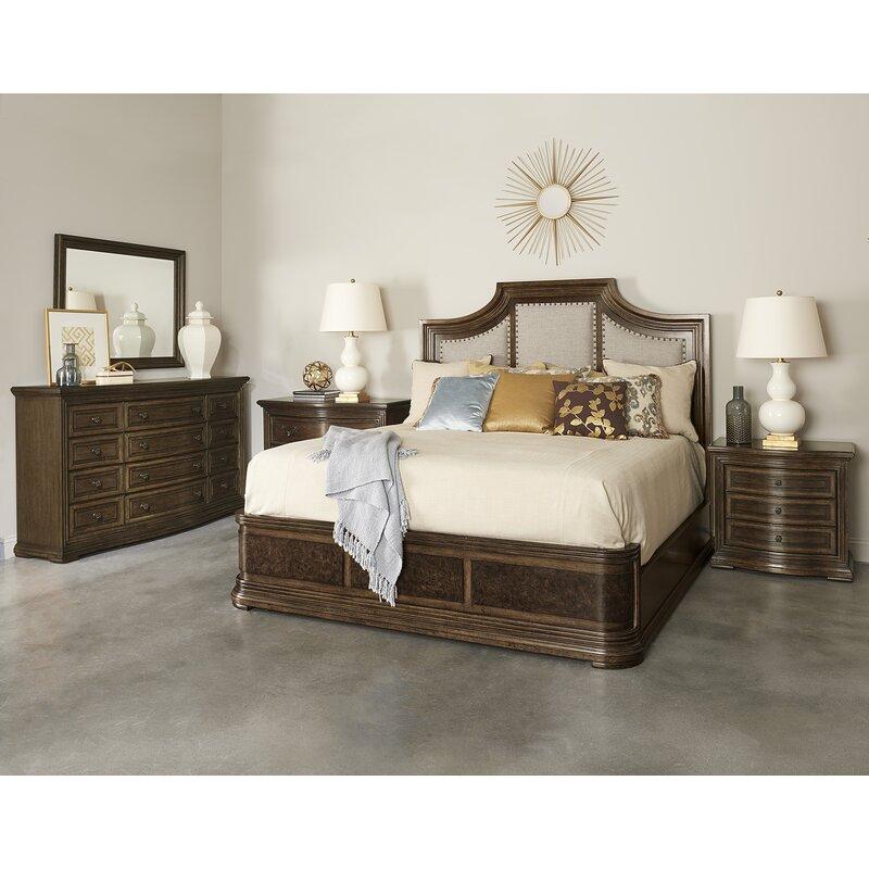 traditional neutrals platform solid wood configurable