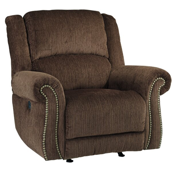 Mcdowell Power Rocker Adjustable Headrest Recliner