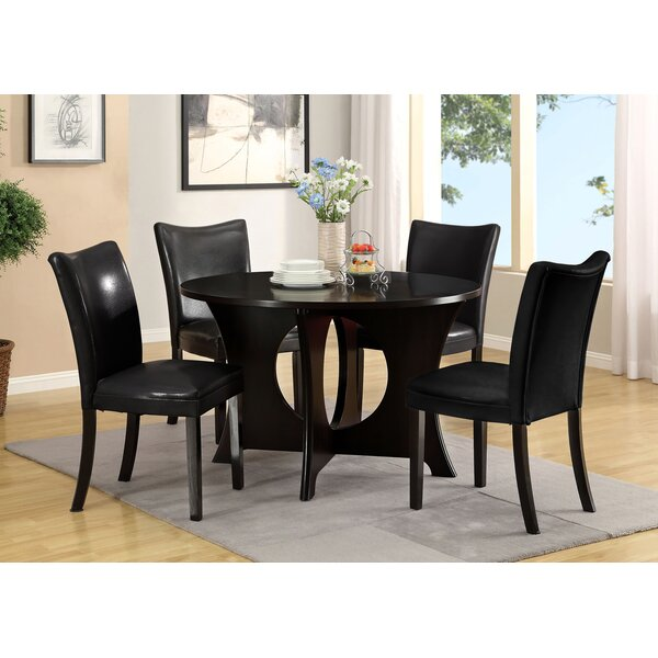 Gleaming 5 Piece Dining Set by Hokku Designs