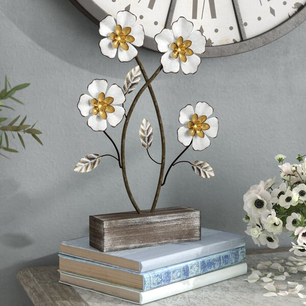 Falbo Daffodil Flower Sculpture by Ophelia & Co.