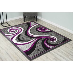 Abstract Purple Area Rugs You Ll Love In 2021 Wayfair