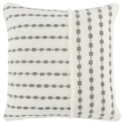 Seigler Cotton Geometric Throw Pillow Cover Size 20 X 20 From Wayfair North America Ibt Shop