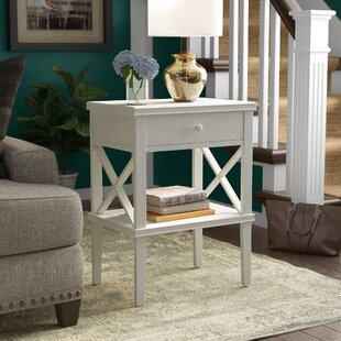 Santino Chairside Table By Longshore Tides