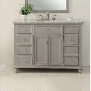 Price comparison Fawkes 48 Single Bathroom Vanity Set ByRosecliff Heights