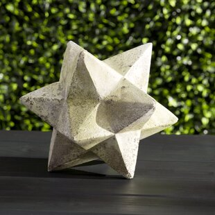 ornament zinc star statue - Large Outdoor Christmas Star