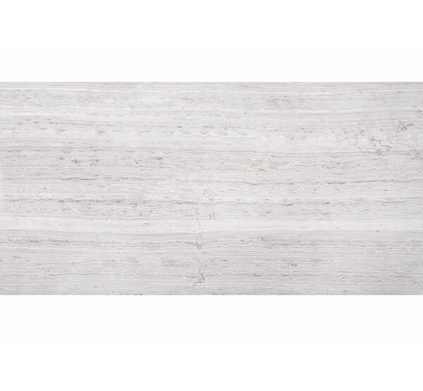 Wood Grain 12 x 24 Marble Field Tile in Gray by Parvatile