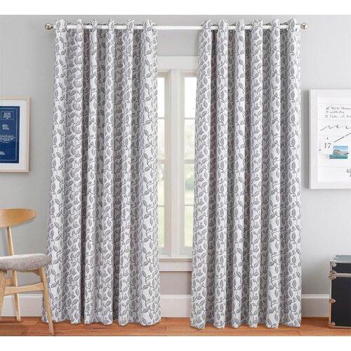 Beacon Falls Eyelet Room Darkening Thermal Curtains ClassicLiving Panel Size: Width 168cm x Drop 182cm, Colour�: Grey