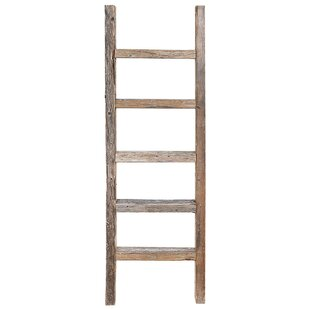 Best Reviews Wood 4 ft Blanket Ladder By Rustic Decor
