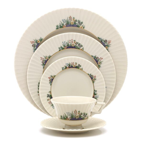 Rutledge Bone China 5 Piece Place Setting, Service for 1 by Lenox