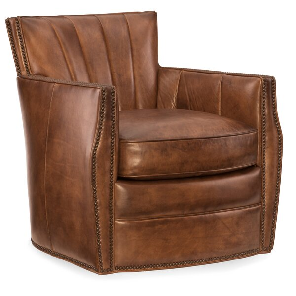 Carson Swivel Club Chair by Hooker Furniture