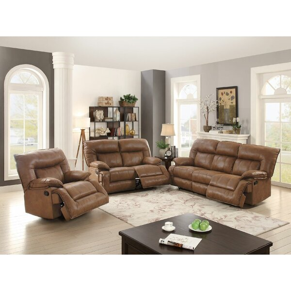 Sunset Park Reclining  Motion 3 Piece Living Room by Red Barrel Studio
