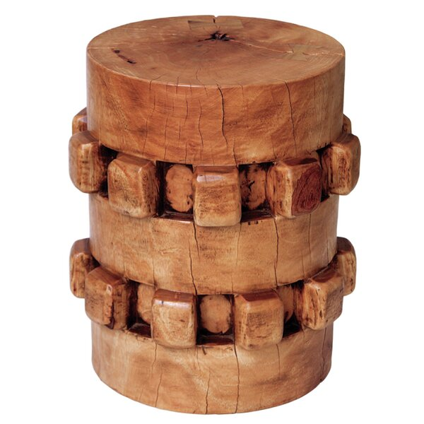 Gear Stool by Asian Art Imports