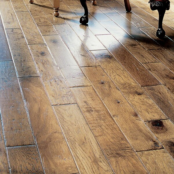 5 Engineered Hickory Hardwood Flooring in Germain by Virginia Vintage