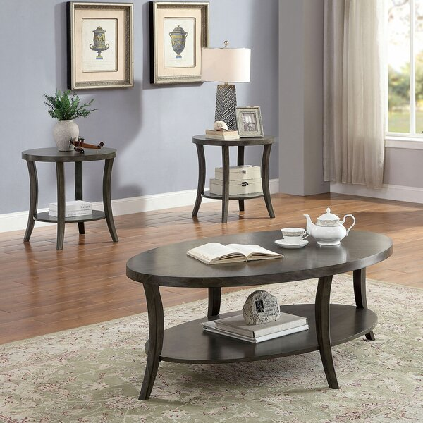 Eck 3 Piece Coffee Table Set by Darby Home Co Darby Home Co