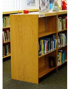 Double Face Shelf Standard Bookcase