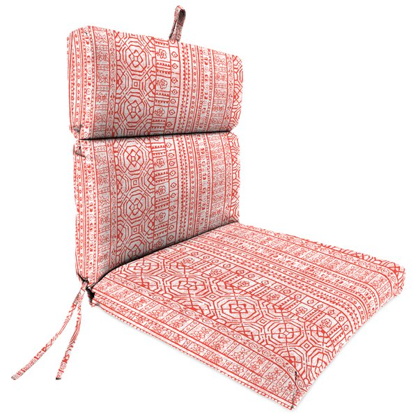 French Edge Indoor/Outdoor Lounge Chair Cushion by Wrought Studio