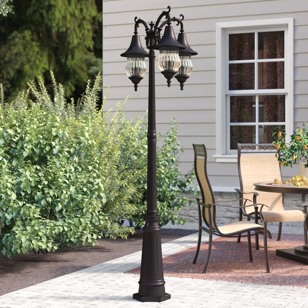 Berriman 3-Light 81 Post Light by Fleur De Lis Living