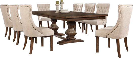Richmond 9 Piece Dining Set by Darby Home Co