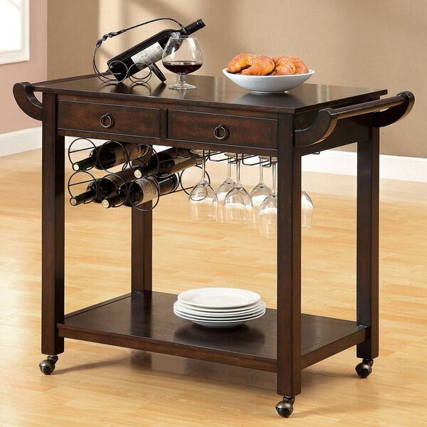 Cozad Kitchen Cart by Winston Porter