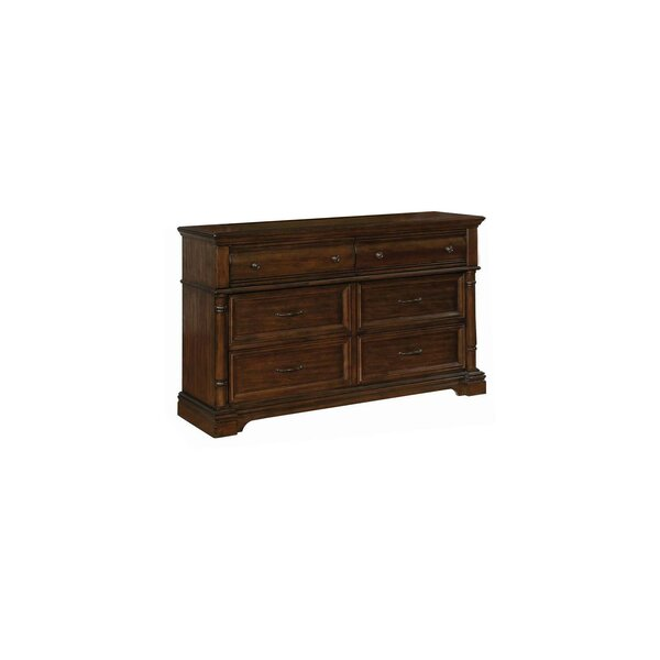 Rickie 6 Drawer Double Dresser by Darby Home Co