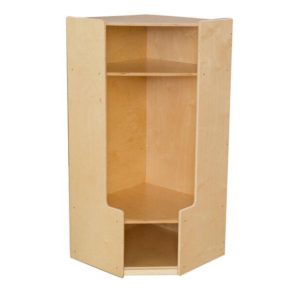 3 Tier 1 Wide Coat Locker by Wood Designs