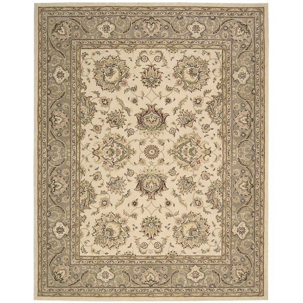 Media Hand-Tufted Ivory Area Rug by Darby Home Co