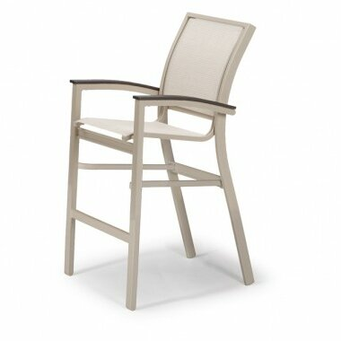 Bazza Stacking Patio Dining Chair by Telescope Casual Telescope Casual