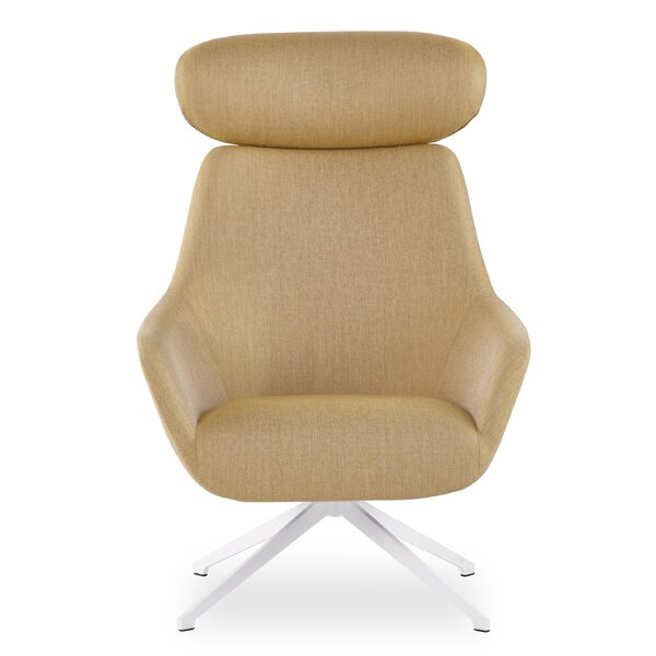 Brady Swivel Headrest Lounge Chair by Brayden Studio
