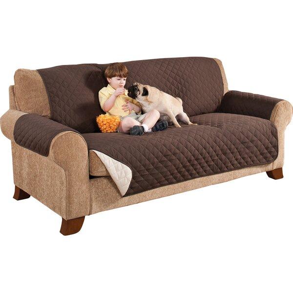 Home Solutions Box Cushion Sofa Slipcover by Ad N Art