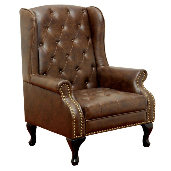Vaugh Wingback Chair by A&J Homes Studio