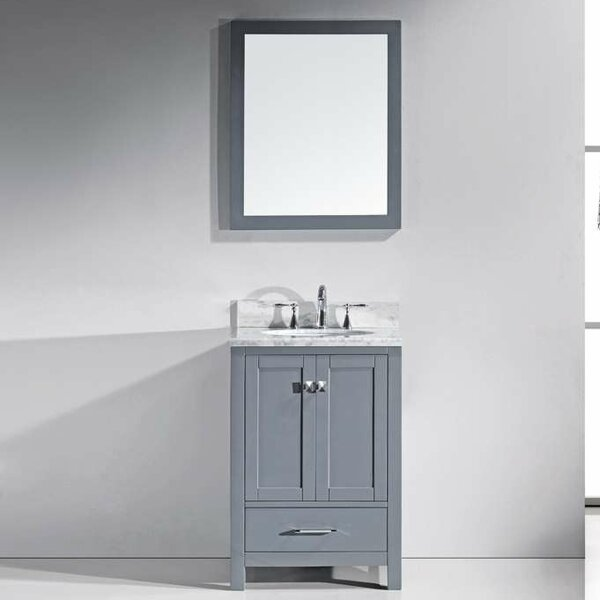 @ Serigne 24 Single Bathroom Vanity Set with Mirror by Willa Arlo Interiors| #$0.00!
