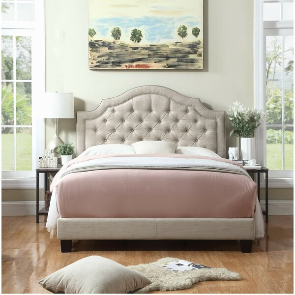 Swanley Upholstered Panel Bed by Andover Mills