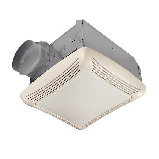 70 CFM Bathroom Fan with Light by NuTone