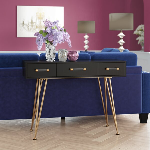 Hursey Console Table by Mercer41 Mercer41