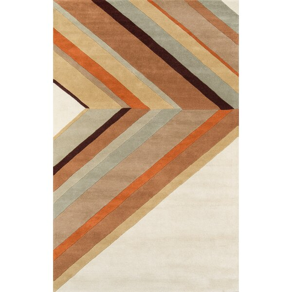 Ultralight Hand-Tufted Brown Area Rug by Novogratz By Momeni