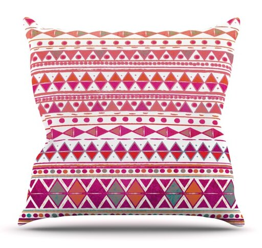 Summer Breeze by Nika Martinez Outdoor Throw Pillow by East Urban Home
