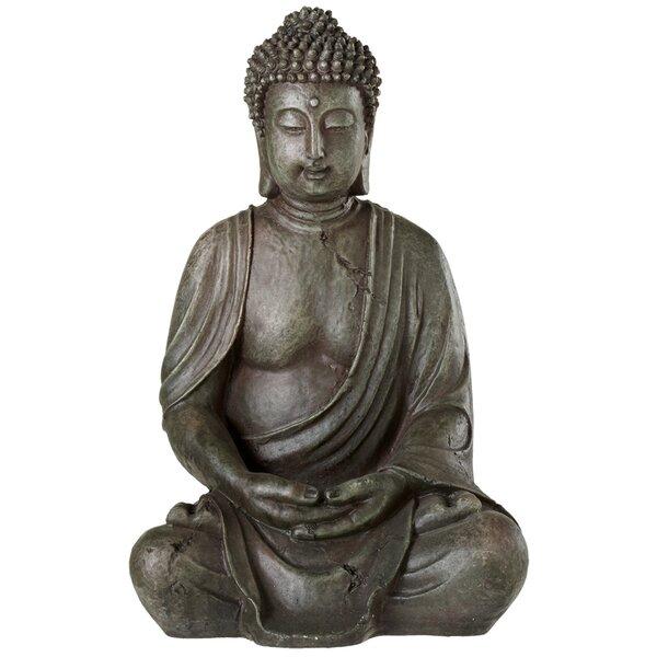 Irene Meditation Buddha Figurine by Bloomsbury Market