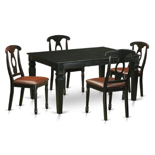 Pennington Traditional 5 Piece Dining Set By Beachcrest Home
