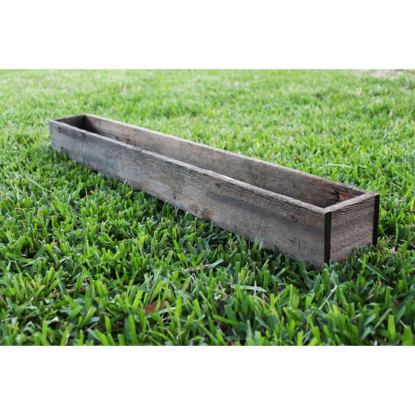 McPhee Wood Planter Box by Loon Peak