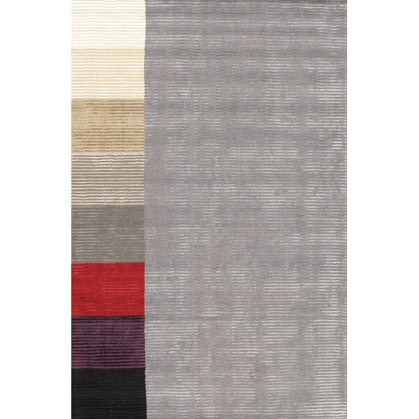 Hand-Loomed Grey Area Rug by Pasargad