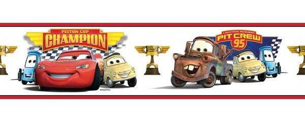 Disney Cars Piston Cup Champion Room Border Wall Mural by Wallhogs