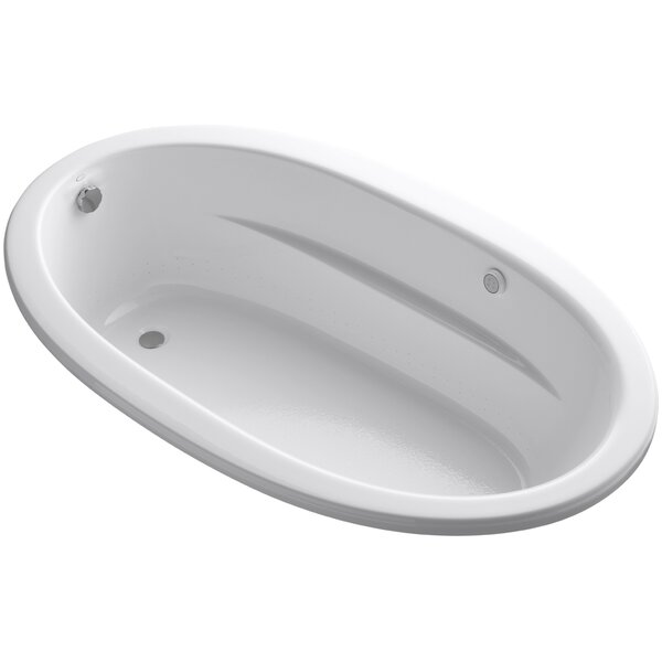 Sunward Drop-In Bubblemassage™ Air Bath with Bask™ Heated Surface by Kohler
