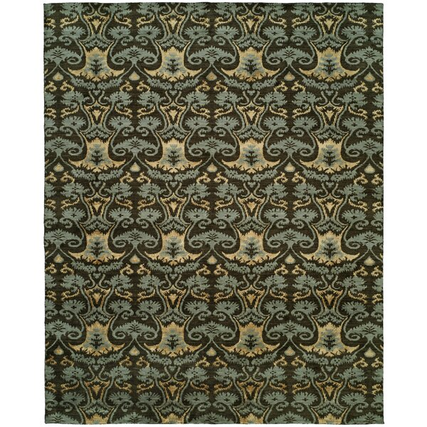 Dumraon Handmade Smokey Brown Area Rug by Meridian Rugmakers