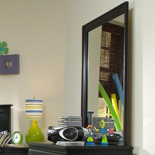 Midnight Rectangular Dresser Mirror by Carolina Furniture Works, Inc.