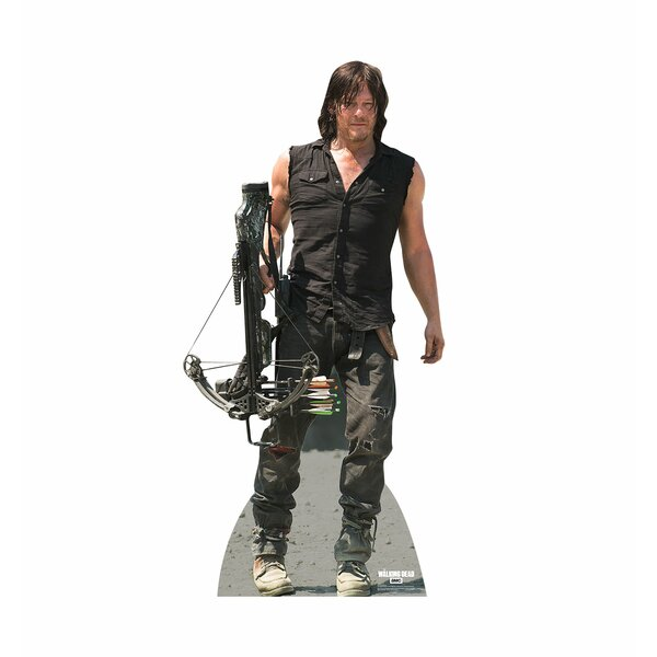 The Walking Dead Daryl Dixon Cardboard Stand-Up by Advanced Graphics